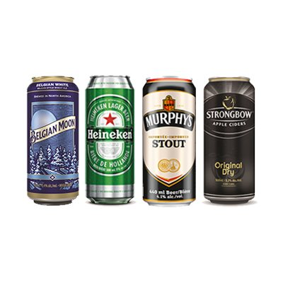 Belgian Moon, Heineken, Murphys, Strongbow Bundle
